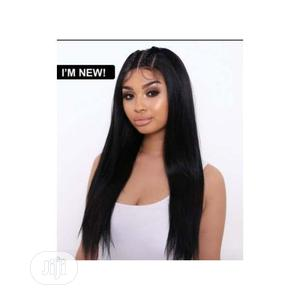 Straight Hair Wig With Front Lace Closure | Hair Beauty for sale in Lagos State, Lekki