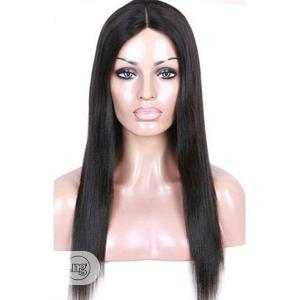 Straight Long Human Hair Wig   Hair Beauty for sale in Lagos State, Surulere
