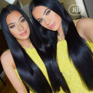 Ms. Oblique Bangs Long Straight Hair Wig | Hair Beauty for sale in Lagos State, Ikeja