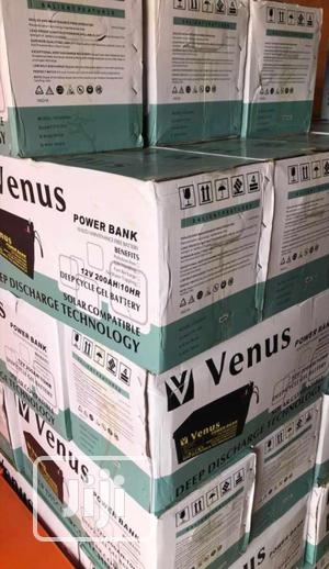 200ah 12v Venus Battery Available With 1yr Warranty | Solar Energy for sale in Lagos State, Ojo