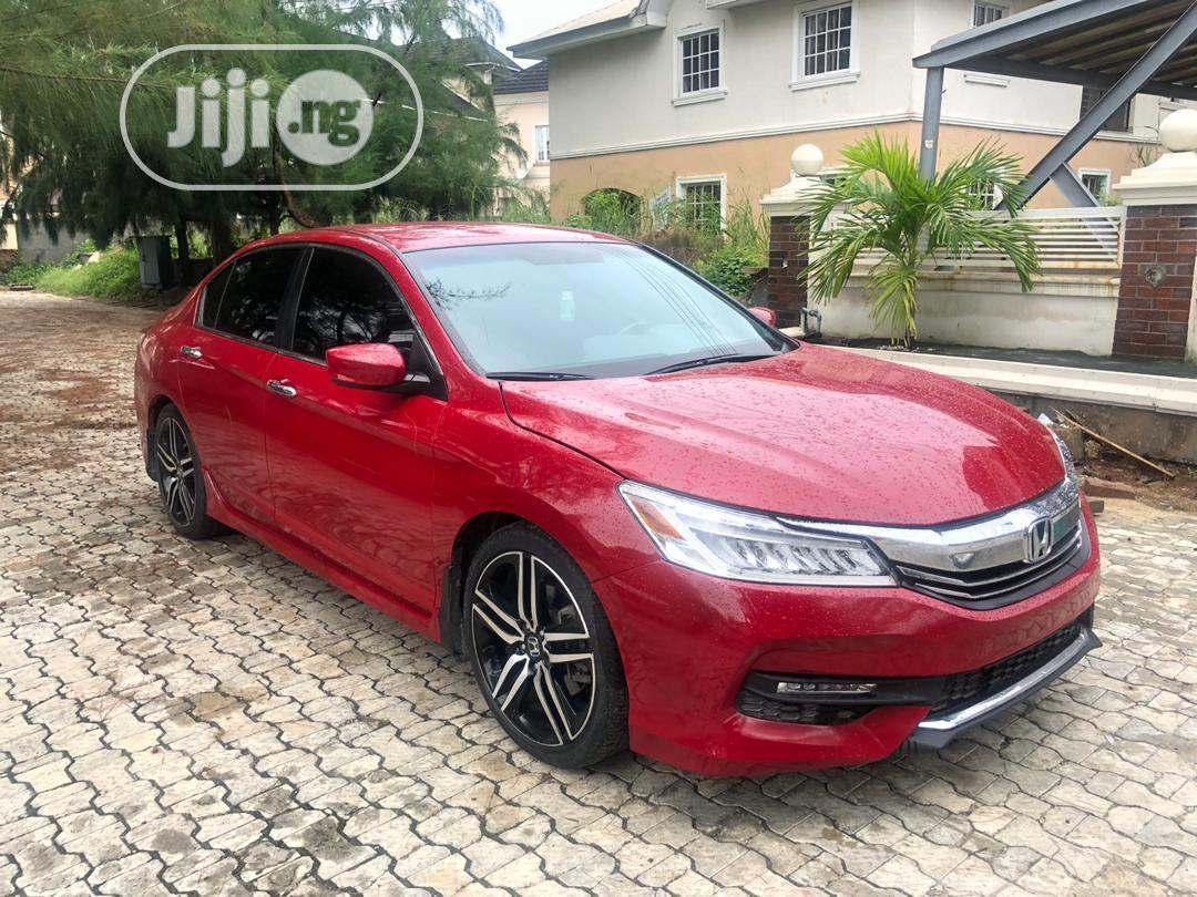 Honda Accord 2016 Red   Cars for sale in Lekki, Lagos State, Nigeria