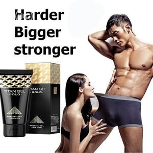Penis Enlargement And Delay Solution - Titan Gel Gold | Sexual Wellness for sale in Lagos State, Surulere