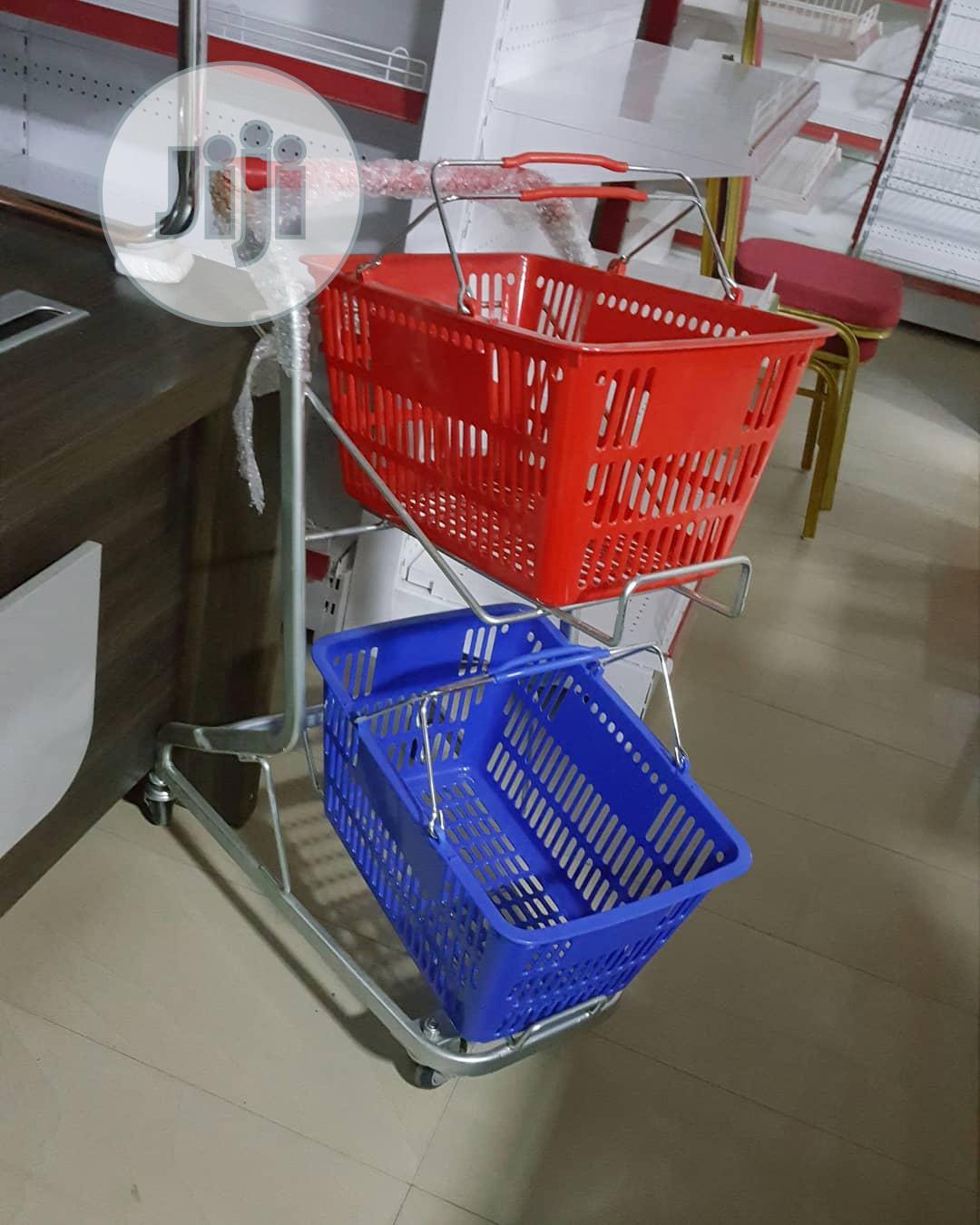 Archive: Plastic Super Market Trolley