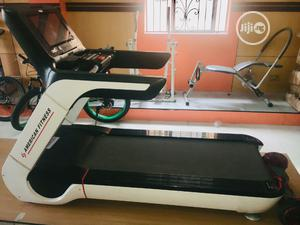 American Premium 8hp Treadmill(Commercial)With Mp3,Massager Dumbbell   Sports Equipment for sale in Lagos State, Ikeja