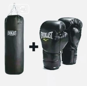 Punching Bag With Boxing Gloves | Sports Equipment for sale in Lagos State, Lekki