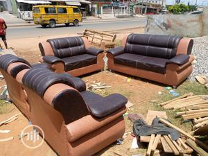 Learher Sofa For Sale   Furniture for sale in Lagos State, Surulere
