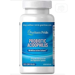 Share This Product Puritan's Pride Probiotics Acidophilus 100 Million | Vitamins & Supplements for sale in Lagos State, Ojo