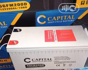12V 200AH Capital Solar Battery   Solar Energy for sale in Lagos State, Ojo