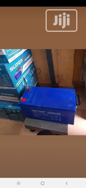 12V 200AH Super Power Solar Battery | Solar Energy for sale in Lagos State, Ojo