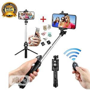 Remote Controller Bluetooth Tripod Selfie Stick   Accessories for Mobile Phones & Tablets for sale in Lagos State, Victoria Island