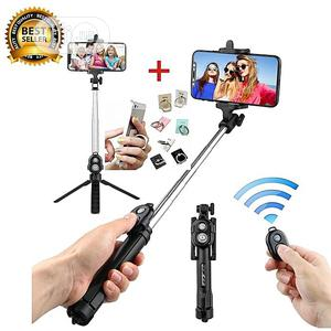 Selfie Stick Remote Bluetooth Shutter Tripod   Accessories for Mobile Phones & Tablets for sale in Lagos State, Ikoyi