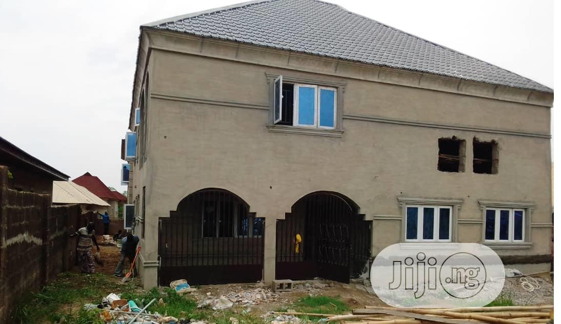 4 Bedroom Duplex With 2 Bedroom Story At Apata Ibadan