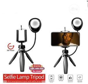 Selfie Studio 360degree Rotate Mini Smartphone Tripod With Selfie Lamp   Accessories & Supplies for Electronics for sale in Lagos State, Alimosho
