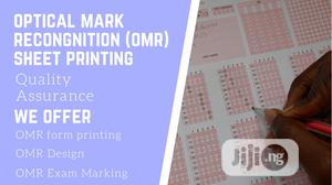 We Print OMR Answer Sheet And Marks | Computer & IT Services for sale in Lagos State, Agege