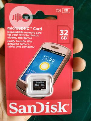 Memory Card 32gb Sandisk | Accessories for Mobile Phones & Tablets for sale in Lagos State, Ajah