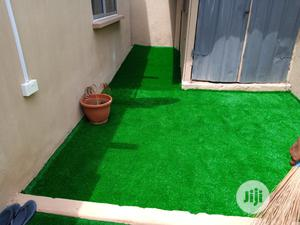 DIY Installation Of Olive Green Grass At Atinuke Ikeja   Landscaping & Gardening Services for sale in Lagos State, Ikeja