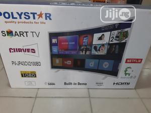 """Polystar 43""""Curved Smart Android TV 
