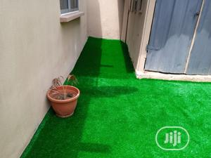 Backyard Garden Side Artificial Grass Installation At Ikotun Area   Landscaping & Gardening Services for sale in Lagos State, Ikeja