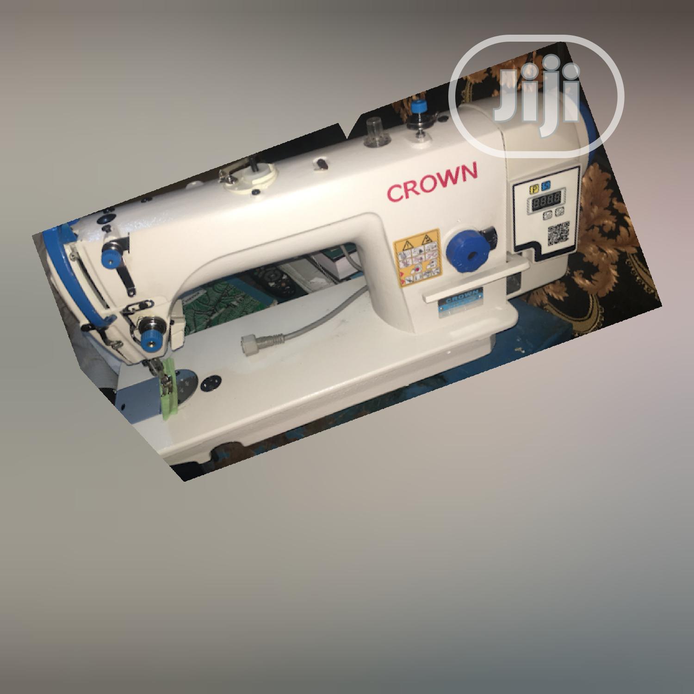 Crown Directdrive Industrial Straight Sewing Machine