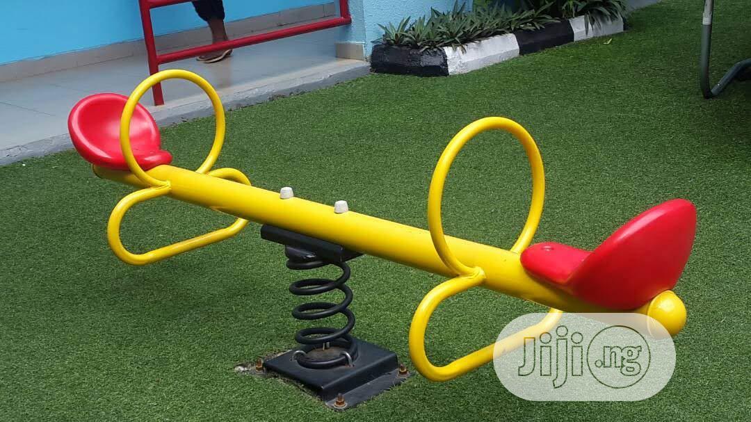 Playground Equipment See Saw