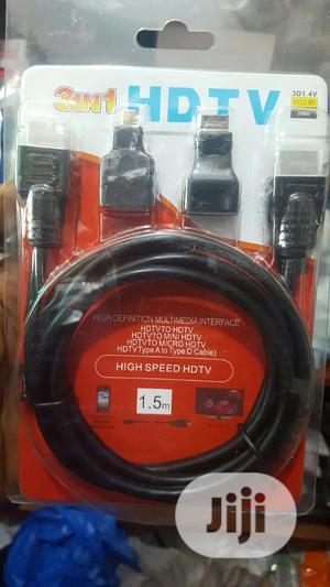 Hdmi 3 In 1 Cables | Accessories & Supplies for Electronics for sale in Lagos State, Ikeja