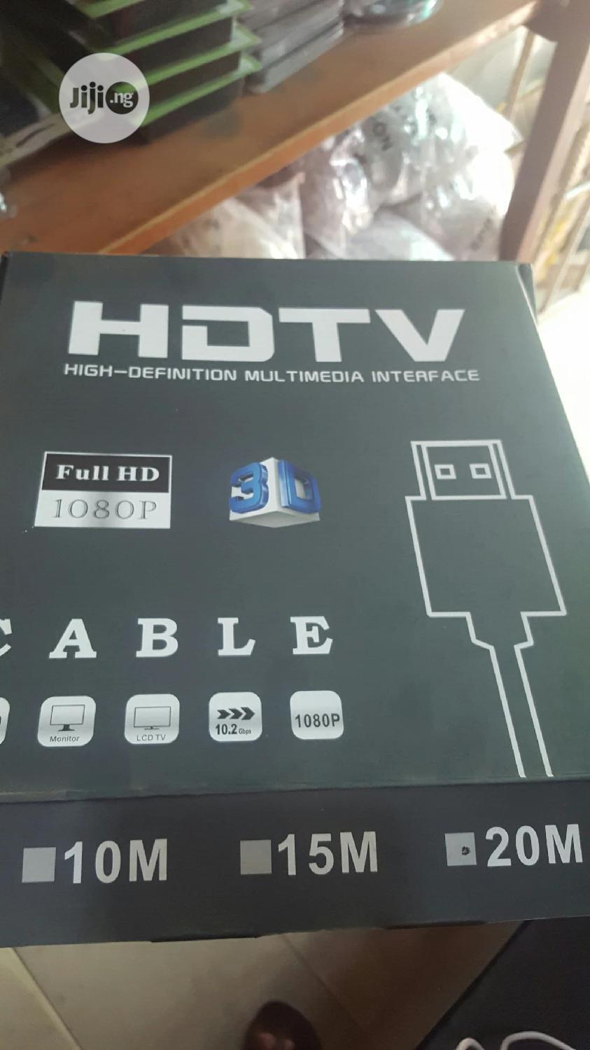 Hdmi Cable 20m | Accessories & Supplies for Electronics for sale in Ikeja, Lagos State, Nigeria