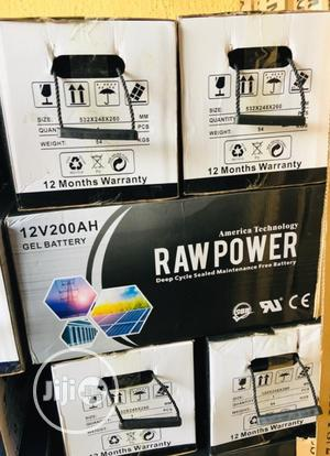 12v 200ah Raw Power Battery Available | Solar Energy for sale in Lagos State, Ojo