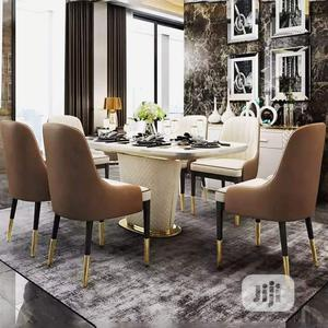 High Quality Executive Marble Turkey Dining Table Set by 6seater | Furniture for sale in Lagos State, Ojo