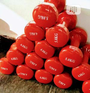 Premium Quality Dumbbells & 1500 Per Kg At Promo Price   Sports Equipment for sale in Lagos State, Yaba