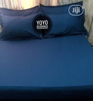 Navy Blue Plain Bedsheet | Home Accessories for sale in Abuja (FCT) State, Wuse 2
