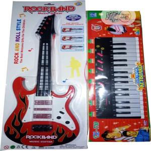 Children Electronic Guitar And Keyboard   Toys for sale in Lagos State, Lagos Island (Eko)
