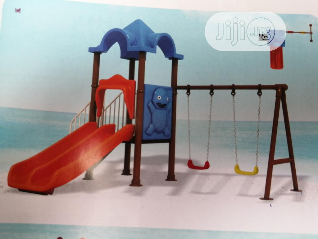 Playground Equipment Ranging From Slides, Swings Available For Sale
