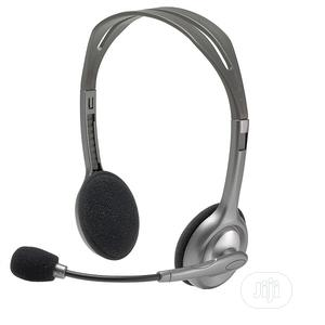Logitech Stereo Headset H111/H110 Microphone | Headphones for sale in Lagos State, Ikeja