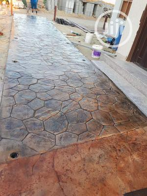 Concrete Stamp Floor Installation | Cleaning Services for sale in Lagos State, Lekki