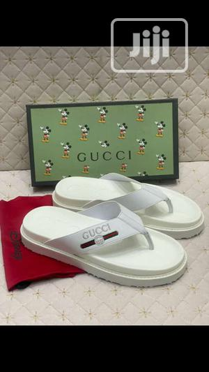 High Quality Italian Pure White Gucci Palm   Shoes for sale in Lagos State, Surulere