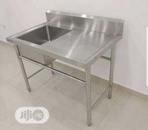 Single Sink With Extension | Restaurant & Catering Equipment for sale in Lagos State, Ojo