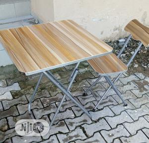 Wooden Table and Chair   Furniture for sale in Lagos State, Yaba