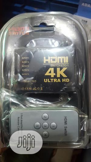 Hdmi Switch 4k 5ports | Accessories & Supplies for Electronics for sale in Lagos State, Ikeja