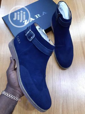Zara Ankle Boot Shoe Chew Gum Hard Sole Model   Shoes for sale in Lagos State, Lagos Island (Eko)