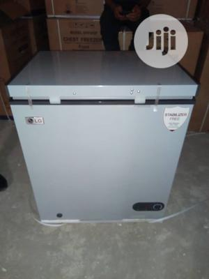 Brand New LG 250L Chest Freezer External Compressor Silver | Kitchen Appliances for sale in Lagos State, Ojo