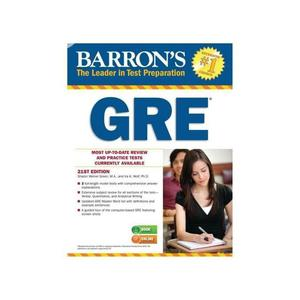 Barron's Educational Series GRE 21st Edition With CD-ROM   Stationery for sale in Lagos State, Ajah