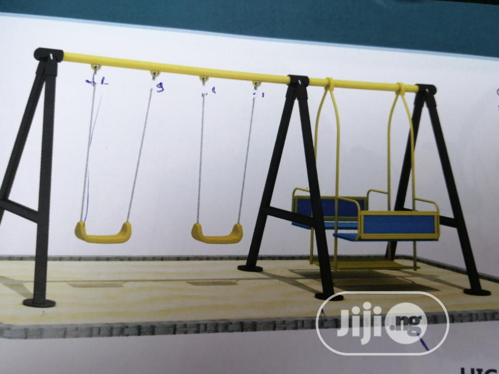 Sling Swing For School Playground Fields And Kiddies Parks