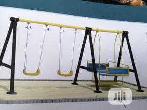 Double Swing Sets For Babies And Kiddies Playground Sets | Toys for sale in Lagos State, Ikeja