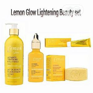 Lemon Glow Ultimate Lightening Set   Skin Care for sale in Lagos State, Alimosho