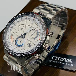 Citizen Chronograph Silver Chain Watch | Watches for sale in Lagos State, Lagos Island (Eko)