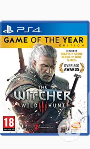 PS4 Witcher 3 Complete Edition   Video Games for sale in Lagos State, Ikeja