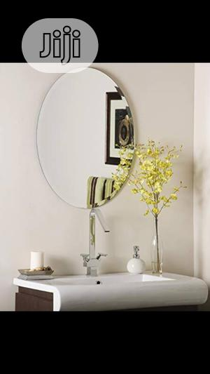 Oval Plain Mirror | Home Accessories for sale in Lagos State, Orile