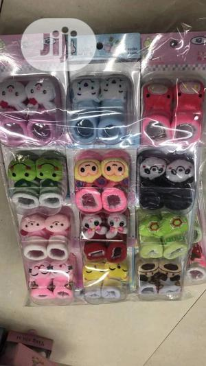 Designed Baby Shoe Socks | Children's Clothing for sale in Lagos State, Amuwo-Odofin
