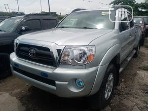 Toyota Tacoma 2008 4x4 Double Cab Silver | Cars for sale in Lagos State, Amuwo-Odofin