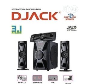 Djack Djack Super X-bass Bluetooth Home Theatre System. | Audio & Music Equipment for sale in Abuja (FCT) State, Asokoro